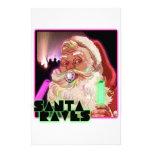 Delirios de Papá Noel - Raver divertido de Santa Papelería De Diseño