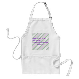 Deliver My Soul O Lord Adult Apron