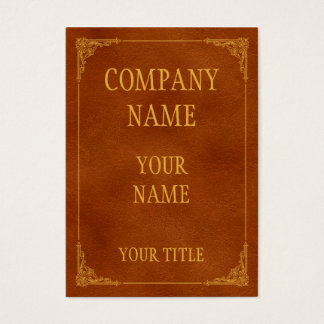 deliver old business card