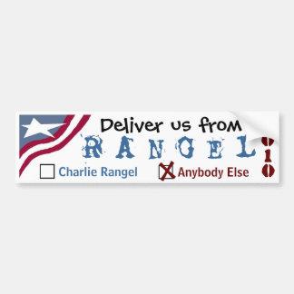 Deliver us from Rangel Car Bumper Sticker