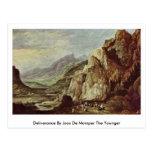 Deliverance By Joos De Momper The Younger Postcard