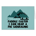 Deliverance,squeal little piggy parody greeting cards