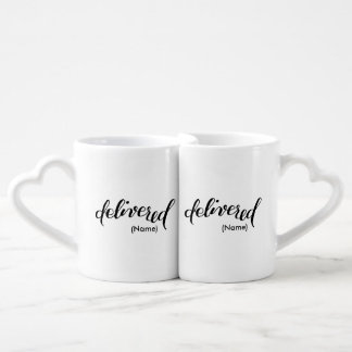 Delivered Custom Coffee Mug Set