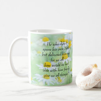 Delivered Up for Us All - Romans 8:32 Coffee Mug