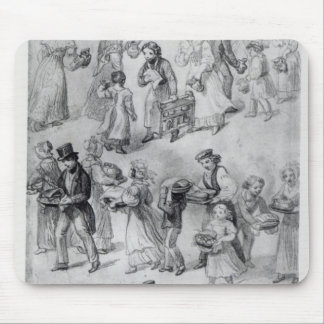 Delivering Dinner, 1841 Mouse Pad