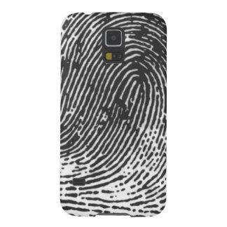 deliverme records - thumb print logo galaxy s5 cover