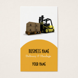Delivery and Haulage Business Card