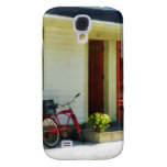 Delivery Bicycle by Two Red Doors Samsung Galaxy S4 Cover