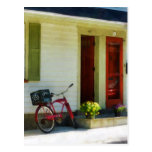 Delivery Bicycle by Two Red Doors Postcard