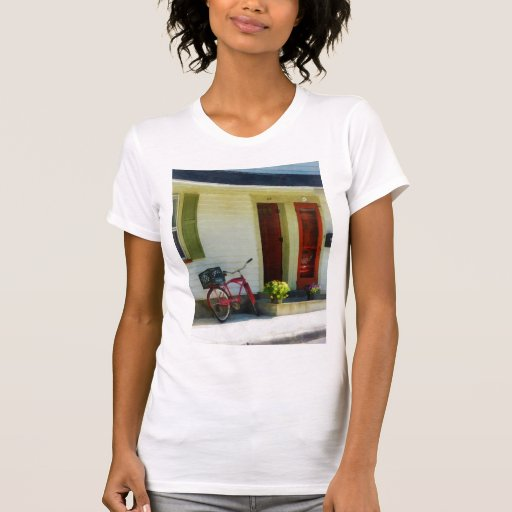 Delivery Bicycle by Two Red Doors T Shirts