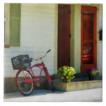 Delivery Bicycle by Two Red Doors Tile
