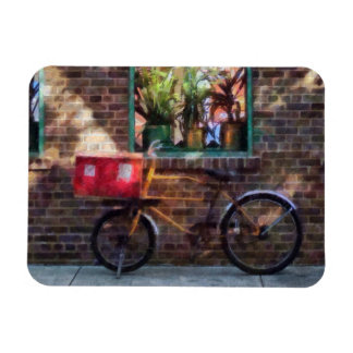 Delivery Bicycle Greenwich Village Magnet