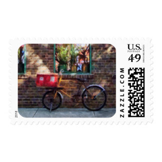 Delivery Bicycle Greenwich Village Postage