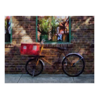 Delivery Bicycle Greenwich Village Print