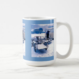 Delivery bicycles mugs