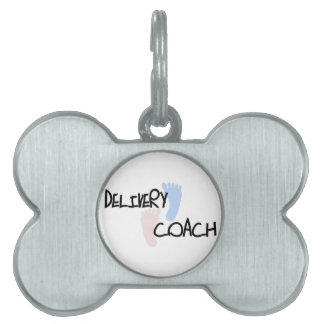 Delivery Coach Pet Name Tag