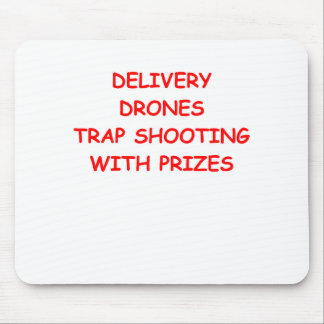 delivery drones mouse pad