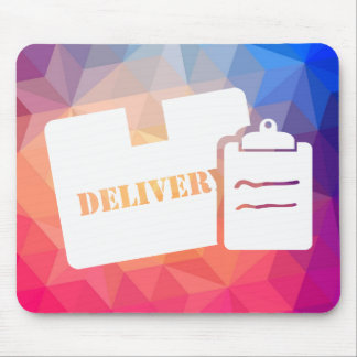 Delivery Mails Pictograph Mouse Pad