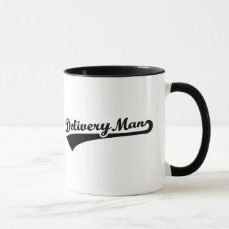 Delivery man mug