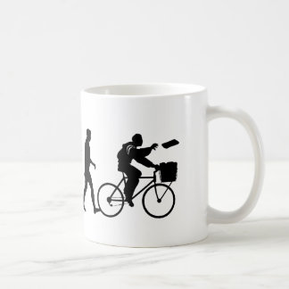 Delivery men and newspaper delivery boys & girls classic white coffee mug