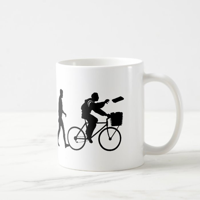 Delivery men and newspaper delivery boys & girls coffee mug