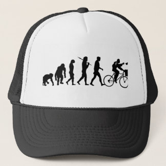 Delivery men and newspaper delivery boys & girls trucker hat