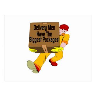 Delivery Men Postcard