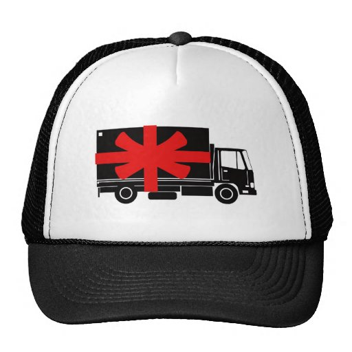 delivery moving truck van lorry free gift trucker hat