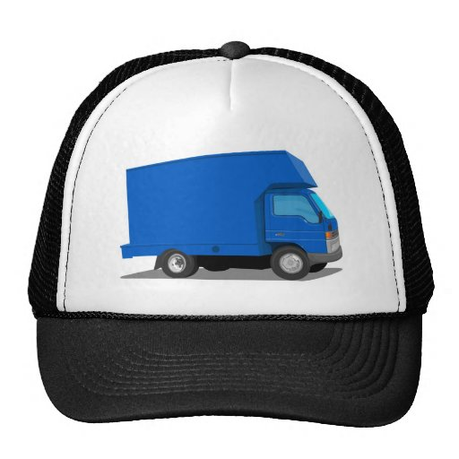delivery moving truck van lorry trucker hats