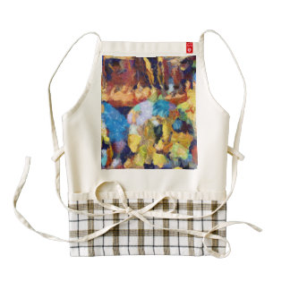 Delivery of souls zazzle HEART apron