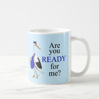 Delivery Stork Mug - Boy
