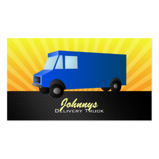 Delivery Truck Business Cards