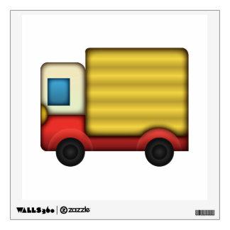Delivery Truck - Emoji Wall Sticker