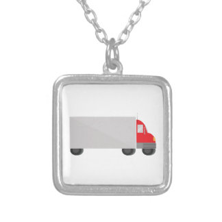 Delivery Truck Custom Necklace