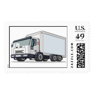 Delivery Truck Postage