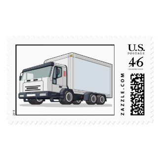 Delivery Truck Stamps