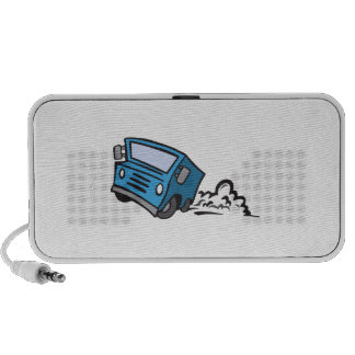 Delivery Truck Mp3 Speakers