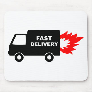 Delivery Van Mouse Pad