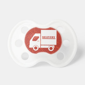 Delivery Vans Minimal BooginHead Pacifier