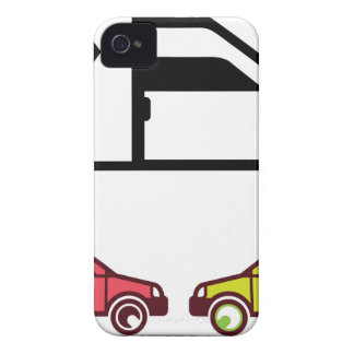 Delivery Vehicle vector iPhone 4 Case