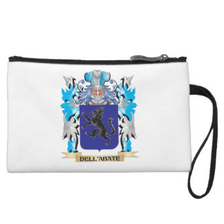 Dell Abate Coat of Arms - Family Crest Wristlet Purse