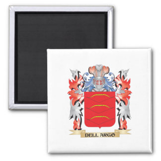 Dell-Argo Coat of Arms - Family Crest Magnet