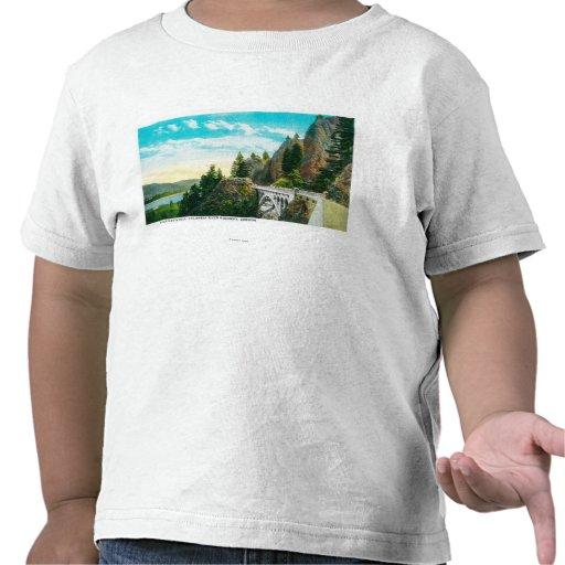Dell de Shepperd en el río Columbia Camiseta