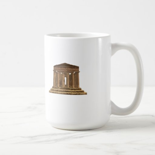 Della Concordia de Tempio: Templo de la concordia: Tazas De Café