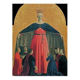Della Francisca de Piero Madonna de la misericordi Postal