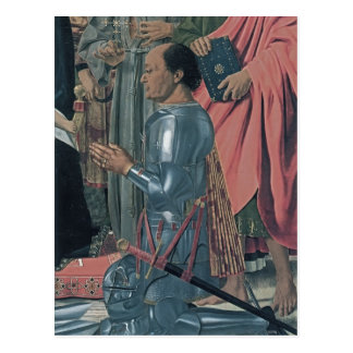 Della Francisca Federico da Montefeltro de Piero Postal