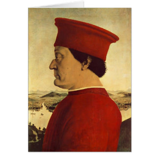 Della Francisca Federigo DA Montefeltro de Piero Felicitacion