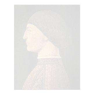 Della Francisca Sigismondo Malatesta de Piero Membretes Personalizados