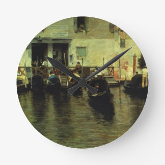 Della Magdalena, 1887 de Traghetto Reloj Redondo Mediano