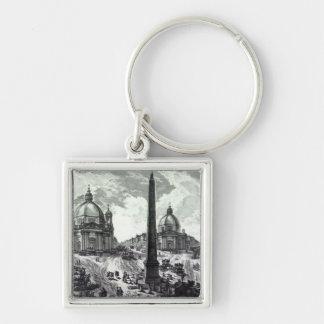 Della Piazza del Popolo c 1750 de Veduta Llavero